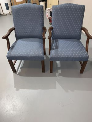 Blue arm chair for Sale in Midlothian, VA