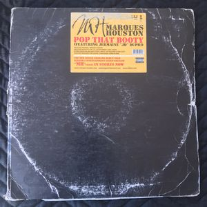 Marques Houston - Pop That Booty - 12 inch vinyl Double Records for Sale in Corona, CA
