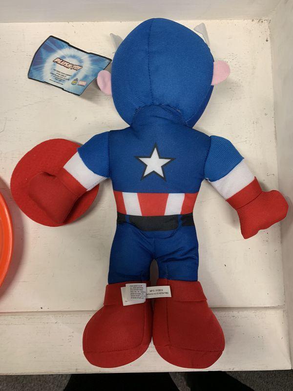 Captain America Plush