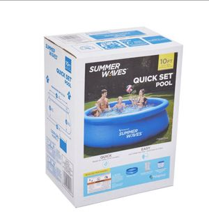 """Summer Waves 10' x 30"""" Quick Set Inflatable Above Ground Pool with Filter Pump NEW!!! for Sale in Mesa, AZ"""
