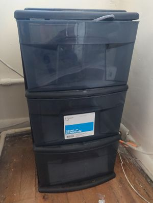 3 drawer Organizer with wheels for Sale in Pittsburgh, PA