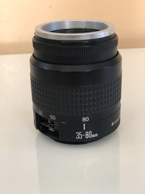 CANON EF 35-80mm 1:4-5.6 III Zoom CAMERA LENS for Sale in CT, US