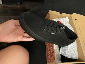 Brand new all black vans with box for Sale in FL, US
