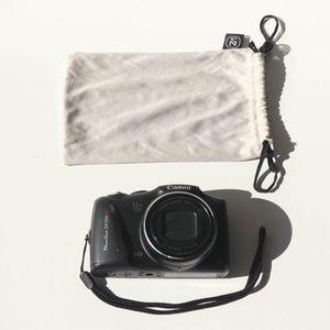 Canon PowerShot SX150 IS 14.1MP 12x Zoom Digital Camera PC1677 Black for Sale in Mesa, AZ