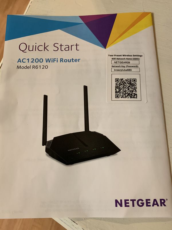 Netgear R6120 Manual