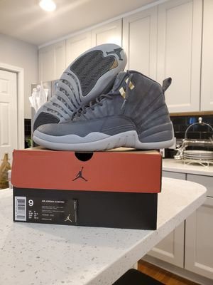 "Jordan 12s"" dark grey"" size 9 excellent condition for Sale in Buffalo, NY"