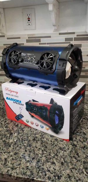 Bluetooth Wireless BT Speaker Portable Wireless Boombox Mutifunctional Stereo Speaker for Sale in East Orange, NJ