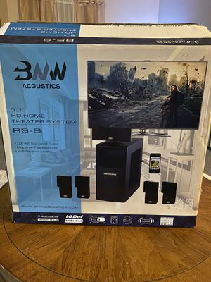 BNW HD acoustics home theatre system for Sale in Painesville, OH