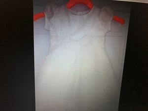 NWT ivory sheer dress wedding flower girl size 3T for Sale in Graham, NC
