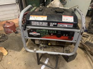 Generator 3500 watts 120volt 30amp for Sale in Sandy, OR
