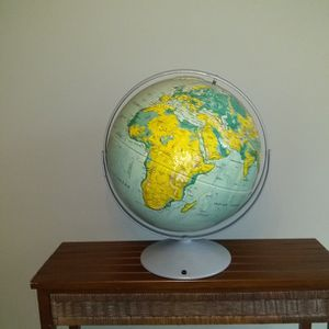 Large World Globe Of The Earth On Double Axis for Sale in Lawrenceville, GA