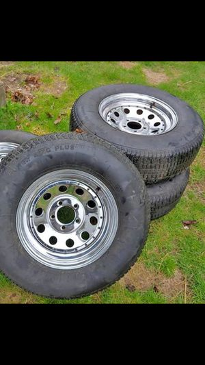 15x7 steels wheels (ranger, Jeep) for Sale in Leominster, MA