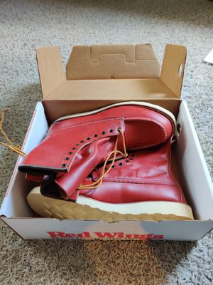 Red Wing 8877 Moc Toe work boot for Sale in Pasadena, TX