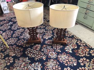 Rosewood lamps for Sale in Mill Valley, CA