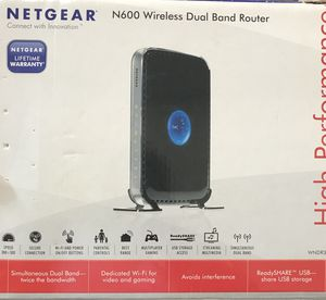 Netgear N600 Router for Sale in Odenton, MD