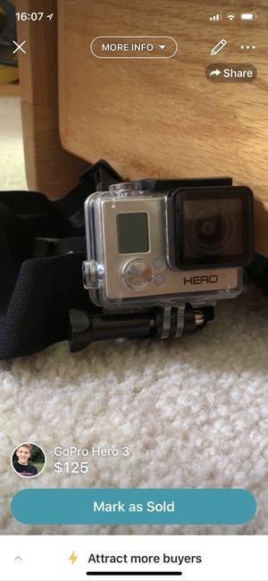 GoPro Hero 3 for Sale in Bunker Hill, WV