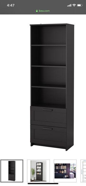 IKEA black bookshelves shelving shelf (set of 2) for Sale in Stockton, CA