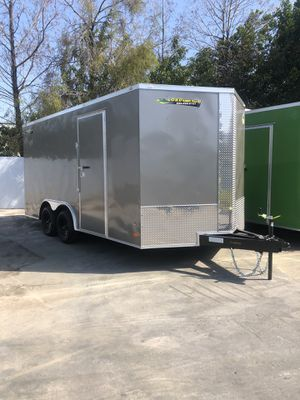 Enclosed Cargo Trailer 8.5-16 Covered Wagon for Sale in Pembroke Pines, FL