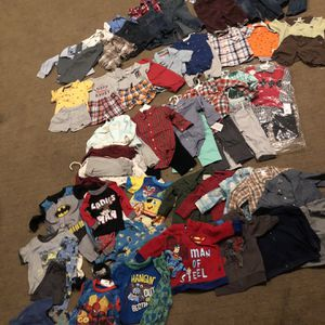 Huge Lot Of Baby Boys 18 Months Clothes for Sale in Perris, CA