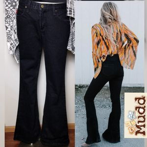 Fit & Flare Black Jeans by Mudd Sexy Boho Goth 11 for Sale in Spokane, WA