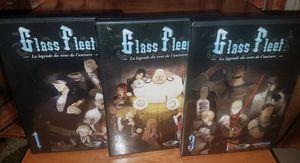 Glass Fleet La Legende Du Vent De l'Univers 1 2 3 Anime DVD Lot Animated for Sale in Tampa, FL