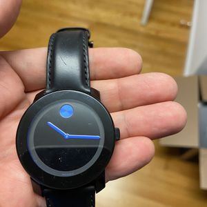 Movado Bold Men's Watch Blue for Sale in Berlin, CT
