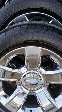 20 Inch Chevy LTZ Wheels Oem for Sale in Dallas,  TX