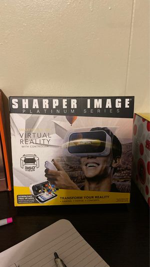 Virtual reality glasses / sharper image for Sale in Brooklyn, NY