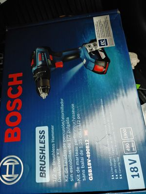 Bosch hammer Drill & Impact(brushless) for Sale in Norman, OK
