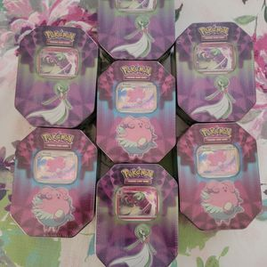 Pokemon Tins Gardevoir and Blissey for Sale in Buena Park, CA