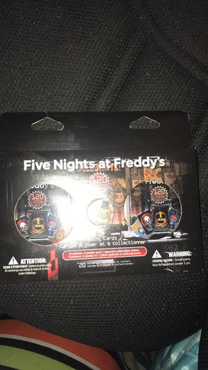 Brand new five night at fridays playing cards set for Sale in Sacramento, CA