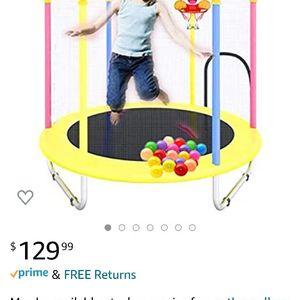 Kids Indoor/outdoor Trampoline for Sale in Arvin, CA