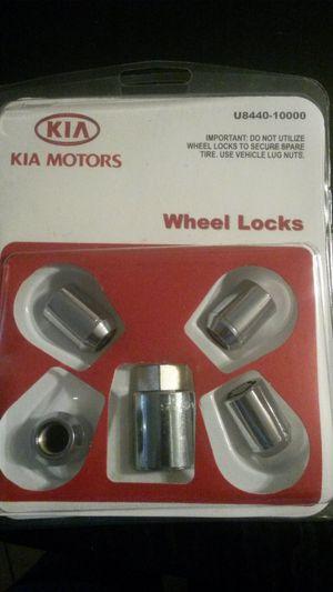 NEW Genuine Kia Accessories U8440-10000 Wheel Lock OE PARTS. Fits: 2010-2013 Kia Forte, Forte 5-door, Koup; 2010-2013 Sedona; 2010-2013 Soul for Sale in Clearwater, FL