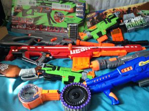 NERF GUNS collection for Sale in Littlerock, CA