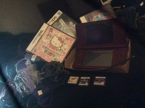 Nintendo DS I XL Bundle Games Chargers Headphones SD Card+ More for Sale in Lakeside, CA