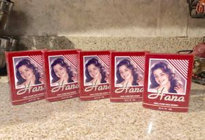 5 Boxes Hana 100% Pure Red Henna 7 oz/ 5 Cajas Henna Roja for Sale in Rialto, CA