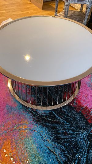 Glass top coffee table for Sale in Rockville, MD