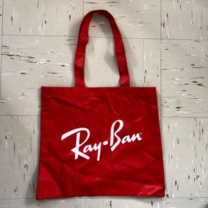 RAY-BAN Red Thick Heavy Duty Re-usable Tote Bag for Sale in New York, NY