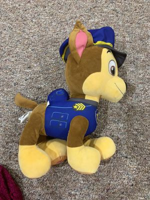 "PAW Patrol Plush Kids Character Pillow Buddy, 13.5""Tall, Chase for Sale in Amarillo, TX"