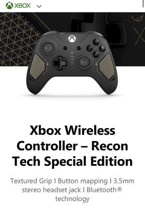 Xbox One Wireless Controller- Special Edition Recon Tech for Sale in Corona, CA