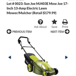 13 Amp Mower/mulcher for Sale in Chandler, AZ