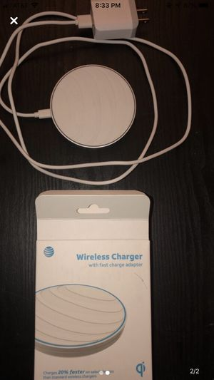 Wireless Charging Pad (White) for Sale in Cohasset, CA