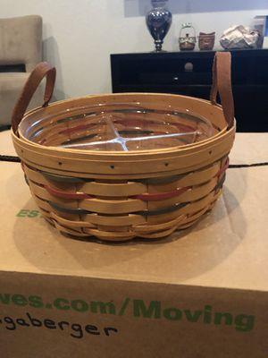 Longaberger Woven Traditions Darning Basket for Sale in Chandler, AZ