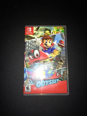 Super Mario Odyssey Nintendo Switch for Sale in Newark, OH