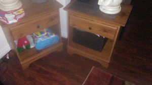 2 end tables /nightstand s for Sale in Denver, CO
