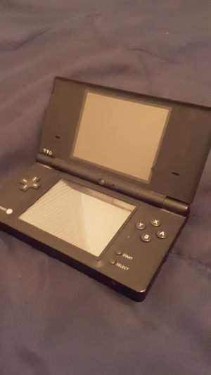Black dsi with case and games for Sale in Amherst, VA
