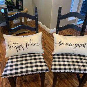 Two Dinning Chairs for Sale in Visalia, CA