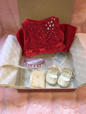 """American Girl Tis The Season Party Dress for 18"""" Dolls for Sale in Los Angeles, CA"""