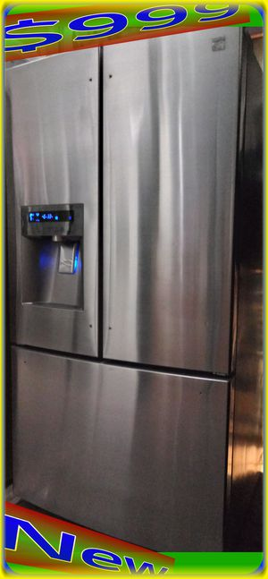 NEW Kenmore Elite by LG 31 cu. ft. French Door Refrigerator Fridge freezer Stainless steel with ice/water dispenser for Sale in Houston, TX