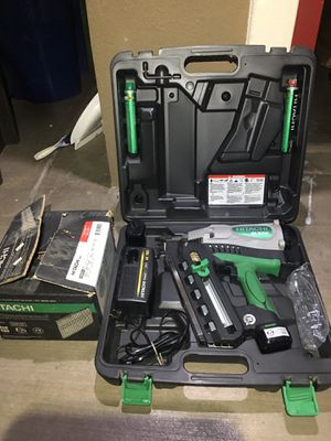 Hitachi Cordless Framing Nailer for Sale in Castro Valley, CA